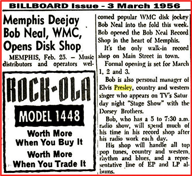 Image result for bob neal record store