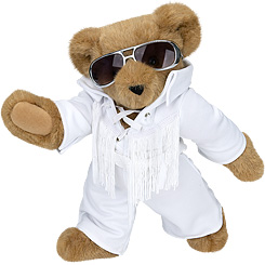 Image result for Vermont Teddy Bear Company elvis bear