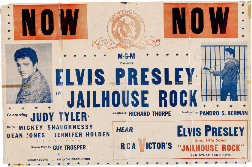 Image result for jailhouse rock poster