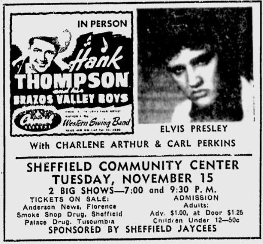 Image result for elvis november 15, 1955