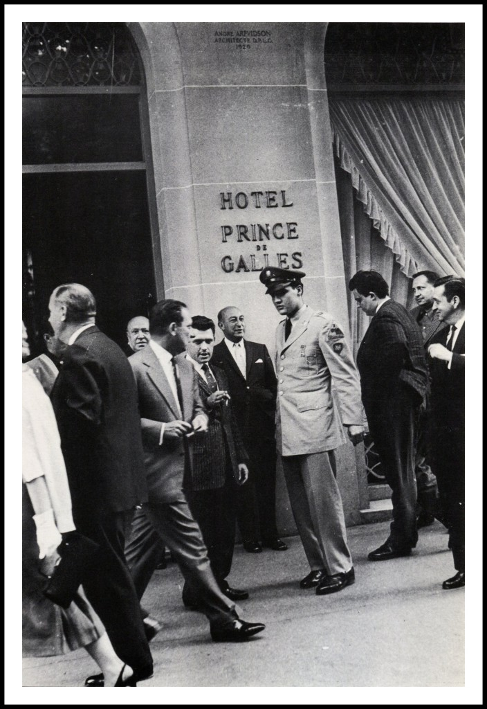 Image result for June 17, 1959 elvis in paris
