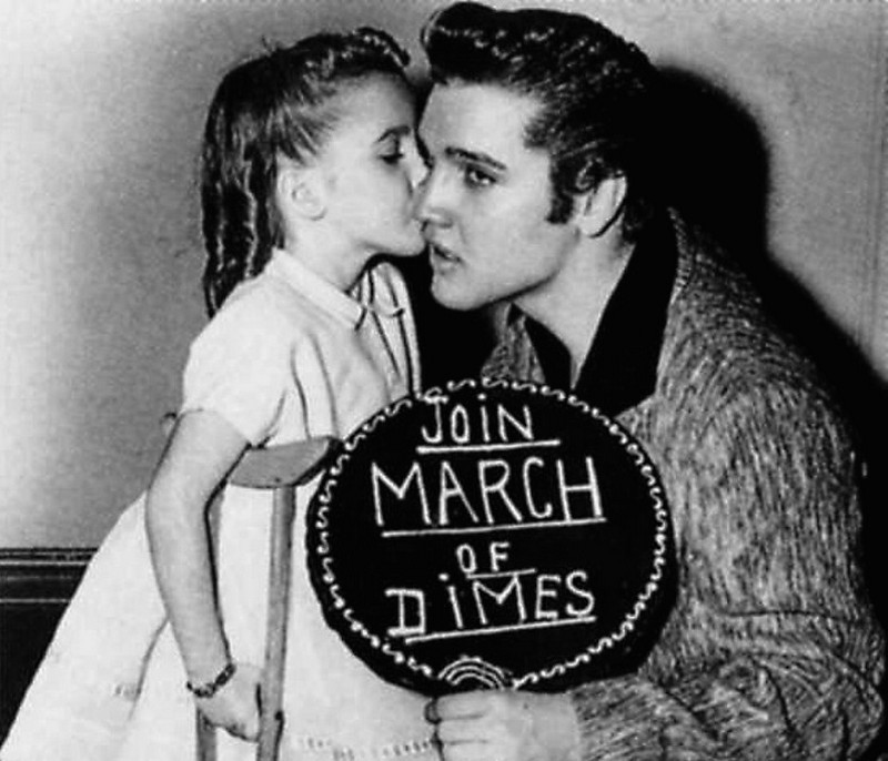 Image result for image, photo, picture, elvis, march of dimes