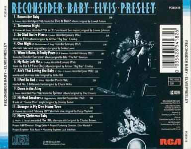 Image result for elvis reconsider baby album