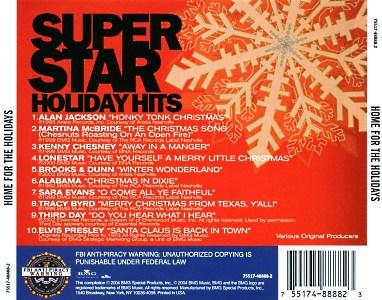 Super Star Holiday Hits  USA 2004  BMG 75517 48888 2