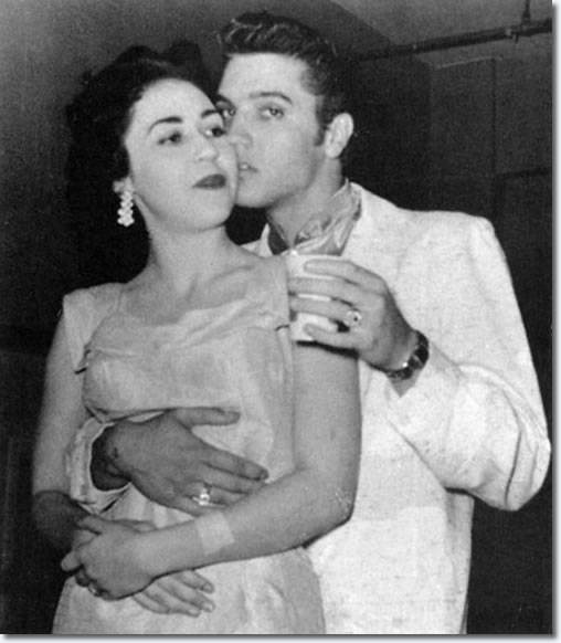 Elvis Presley with Kay Wheeler : San Antonio : April 15, 1956.