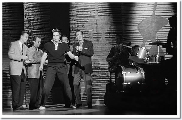 Elvis Presley : Rehearsals : The Ed Sullivan Show : New York, October, 1956.
