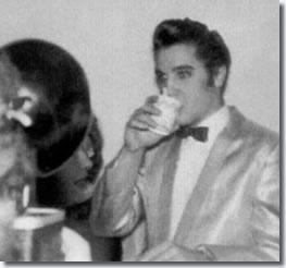Elvis Presley Backstage at Toledo, November 22, 1956