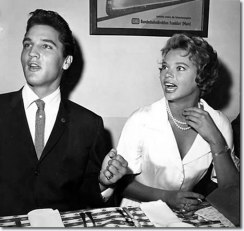 Image result for elvis presley and juliet prowse