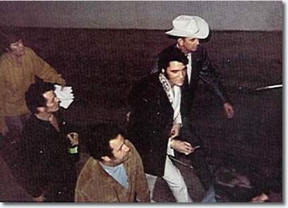 Elvis Presley : Houston Astrodome : February 28, 1970.