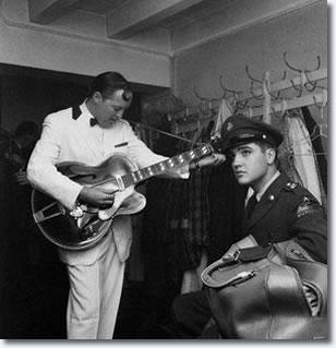 Elvis and Bill Haley - October 23, 1958