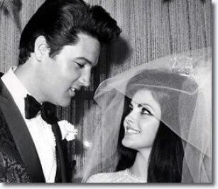 Image result for elvis presley wedding to priscilla