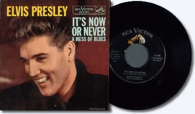 Image result for It's Now Or Never' elvis single 2005