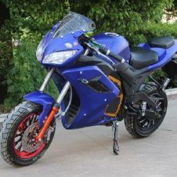 Электромотоцикл купить Украине синего цвета с бесплатной доставкой. Новий електромотоцикл Elwinn.