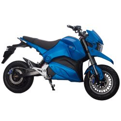 Электробайк купить ElWinn EM-126 синего цвета