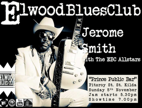 Jerome Smith at Elwood Blues Club