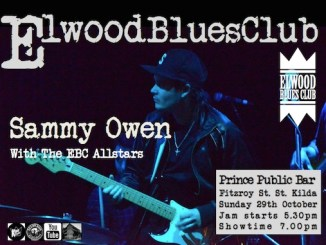 Sammy Owen at Elwood Blues Club