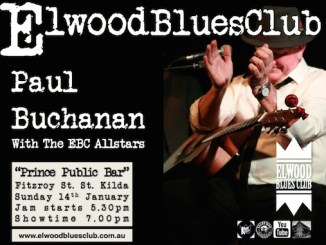 Paul Buchanan at Elwood Blues Club