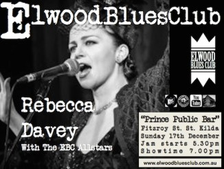 Rebecca Davey at Elwood Blues Club