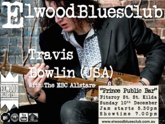 Travis Bowlin at Elwood Blues Club