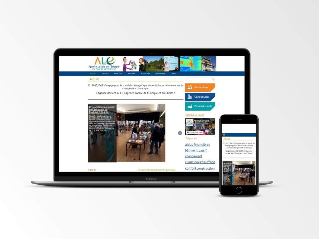 Agence Locale - Site internet