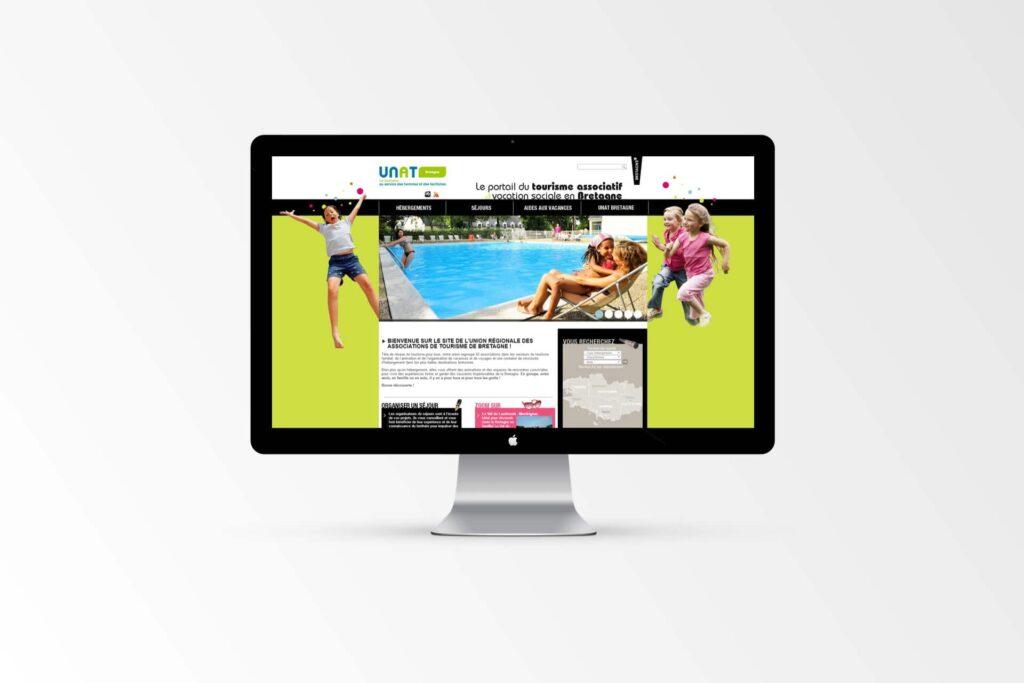 UNAT Bretagne - Site Internet
