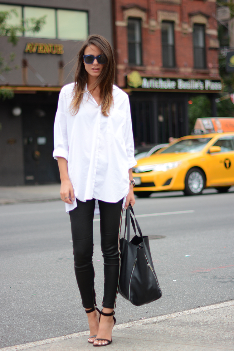 new-york-iro-leather-pants-sandals-white-shirt-celine-bag-marc-jacobs-sunglasses