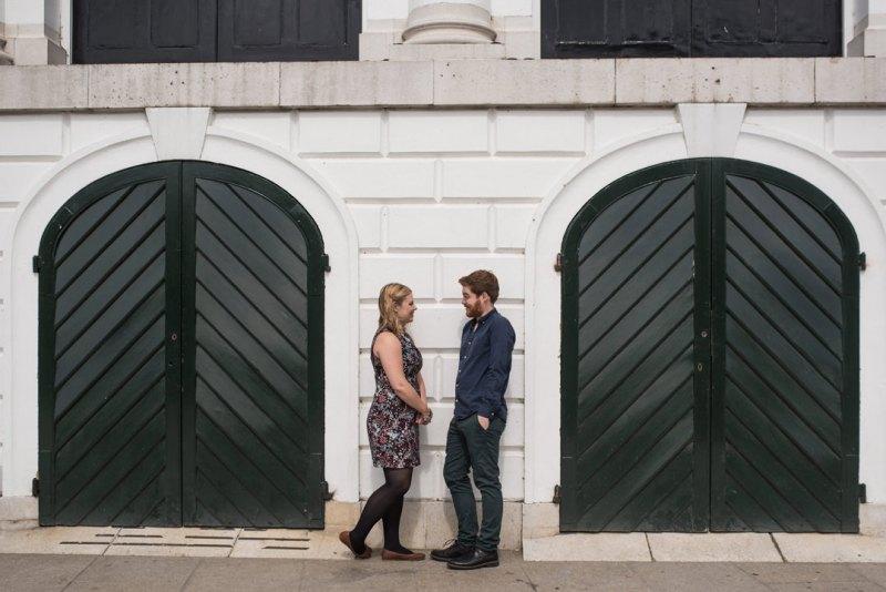 richmond engagement shoot
