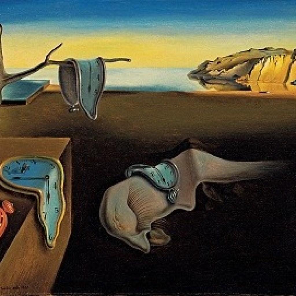 """""""A persistência da memória"""" (1931)"""