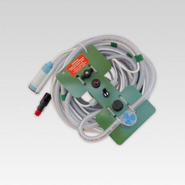 Produktbild uroSIL®-Pumpe mit Anleitung