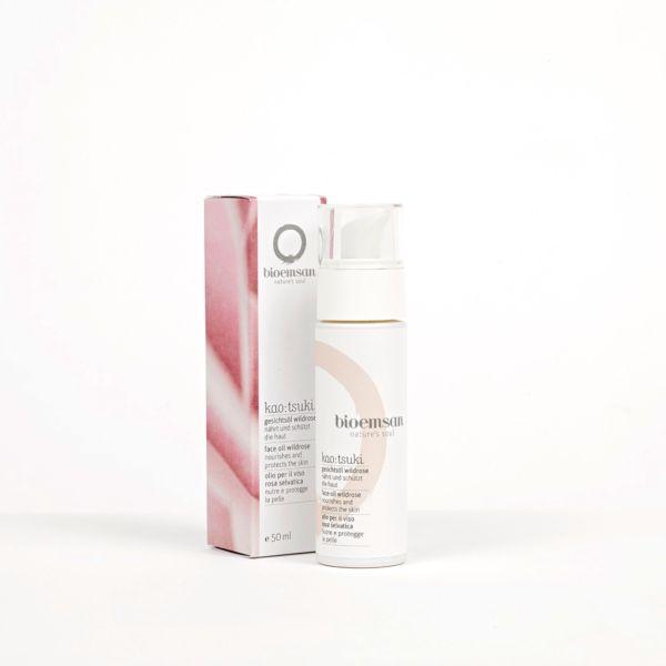 Produktbild bioemsan Gesichtsoel Wildrose