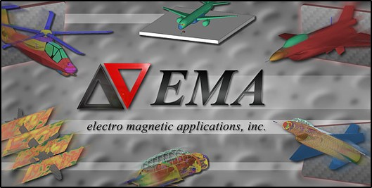 Hirf and lightning aircraft certification: ema3d main logo