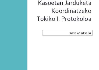 LAGA MANKOMUNITATEKO KOORDINAZIORAKO PROTOKOLO INTERINSTITUZIONALA