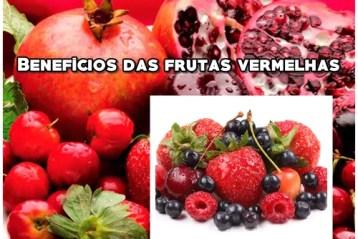 frutas vemerlhas beneficios para a saude