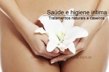 Higiene intima da mulher