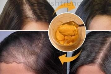 Receita para crescer os cabelos rapidamente