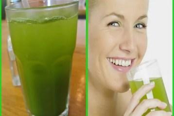 água verde para emagrecer