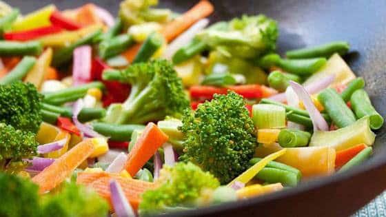 Diabetes Gestacional Alimentação- Vegetais sem carboidratos