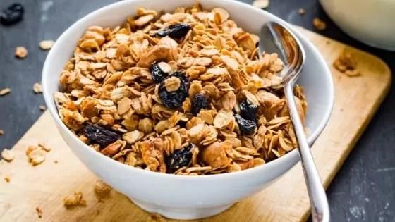 Receitas para Diabéticos para o Café da Manhã Granola Caseira