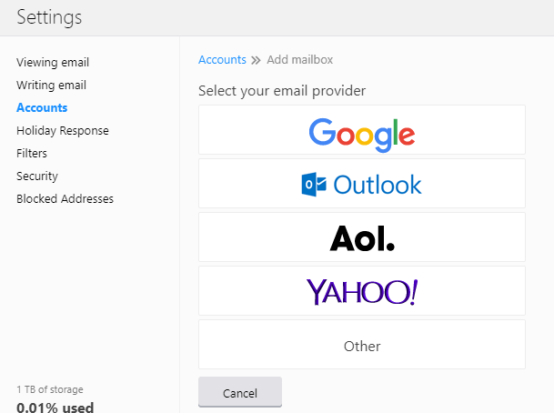 Access Multiple Email (Gmail, Outlook) In Yahoo Mail