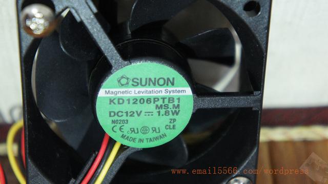 SUNON 建準電機 磁浮風扇 60*60*20 mm