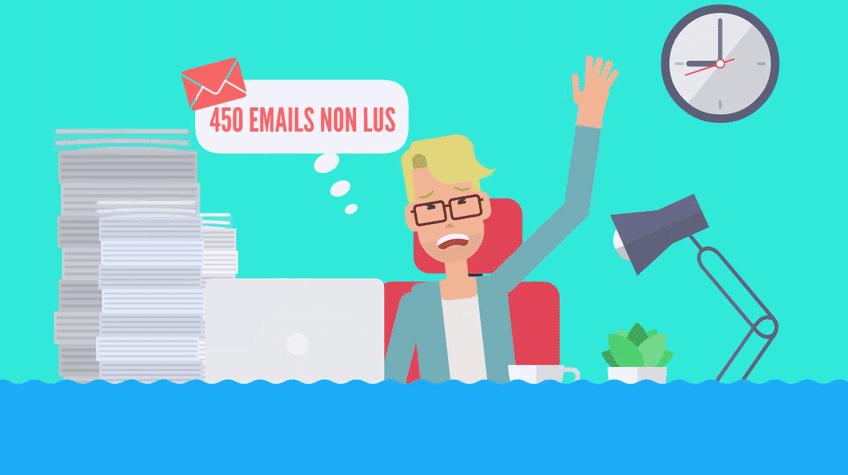 Avec eMana, gagnez du temps dans le traitement de vos eMails.