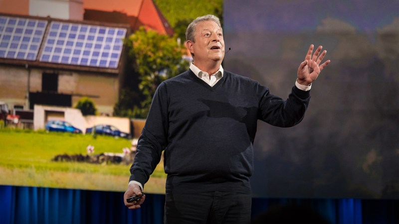 AL GORE – CLIMATE OPTIMISM