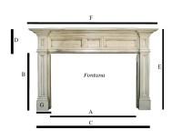 Fireplace Mantel Dimensions Standard - Fireplace Ideas