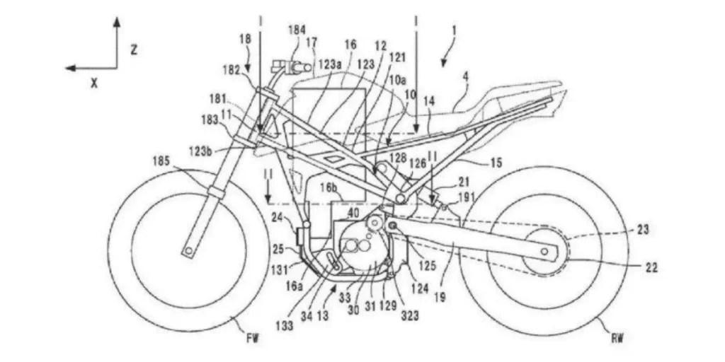 Electric CB125R Café Racer is Honda's Latest Bike Patent