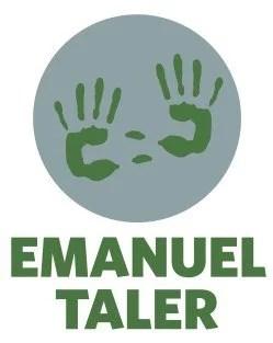 """Logo Emanuel Taler, ein Projekt der """"Die junge MET"""" Stadttheater Fürth und Emanuel Wöhrl Stiftung"""