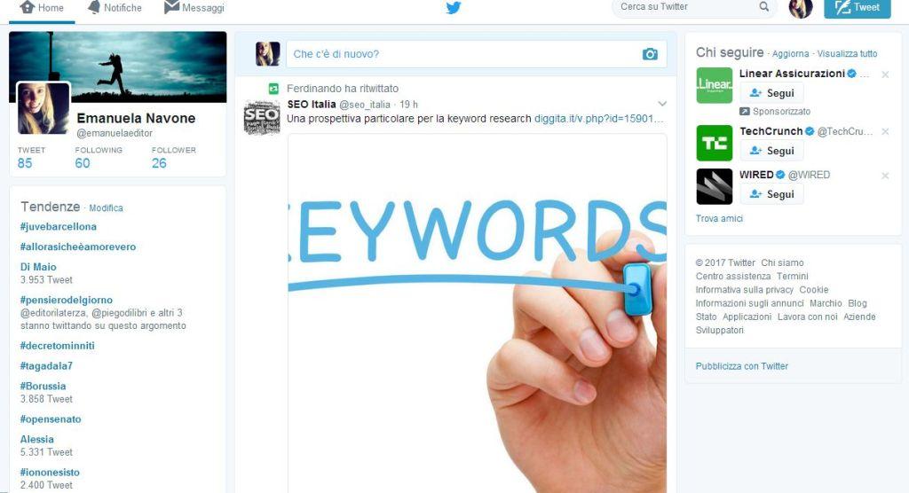 piattaforme di blogging twitter