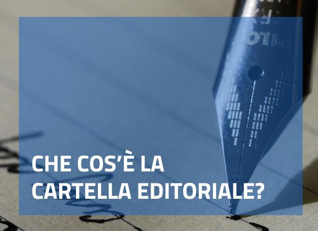 Che cos'è la cartella editoriale?