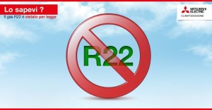 gas R22 vietato per legge