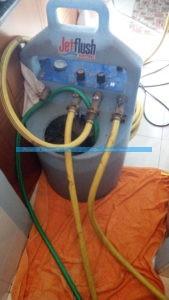 lavaggio impianto riscaldamento con pompa sentinel