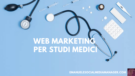 web marketing per studi medici